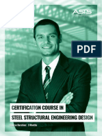 Certification Course In Steel Structural Engineering
