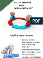 analisis temuan audit