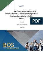 Panduan Penggunaan Aplikasi Web SIPBOS - ASET