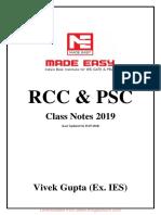 RCC notes