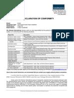 Amplifiers ITech 4x3500HD DoC 7-7-14 Original