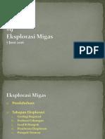 Materi Kuliah - 09 Eksplorasi Migas