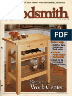 Woodsmith 129 - Jun 2000 - Kitchen Work Center