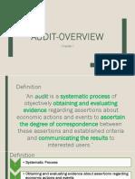Chap 01 Audit-overview