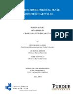Pankow Report II- Purdue University-composite Shear Wall-june 6 2014