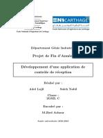 PFA: Conception et développement d'une application web mobile de contrôle réception(nf x 06-022)