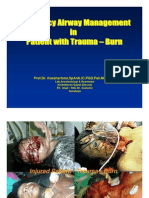 Emergency Airway Management Trauma and Burn