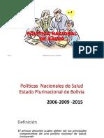 Politicas de Salud Bolivia