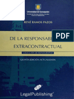 De La Responsabilidad Extracontractual (Ramos Pazos, Año 2006)