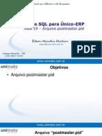Curso SQL - Unico - Aula19 - Arquivo Postmaster.pid