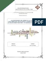 Fiche de Lecture de l'Article Du Rationnement de Crédit