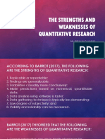 LESSON 2 RDL 2 - STRENGTHS, WEAKNESSES AND KINDS OF QUANTITATIVE RESEARCH.pptx