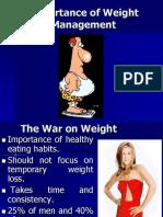 Weight Management.ppt