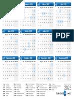 calendário-2025