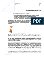 Lesson 1 Business Taxes