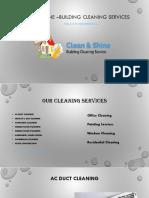 Professioanl Cleaning service in dubai