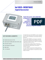9733 0010 Model GEO-MSB780X Digital Barometer