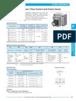 d Flow Control Valves Flow Control and Check Valves