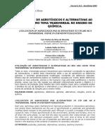Estudo de Agrotóxicos na abordagem para ensino de química