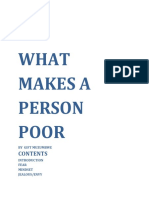 What Makes a Person Poor