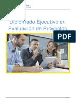 Diplomado Ejecutivo en Evaluacin de Proyectos