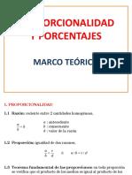 0.Proporcionalidad y Porcentajes