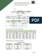 Data Geomecanica de Campo Bambamarca-taludes