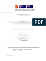RfP ASEAN Guidelines on SPS Final