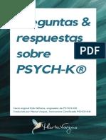 Preguntas & respuestas sobre PSYCH-K® - 2018