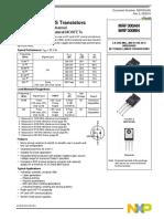RF Power LDMOS Transistors