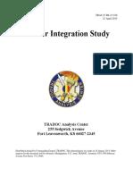 Army - Gender Integration Study