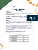 l Triptofano