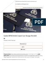 Gadai BPKB Mobil Cepat Cair Bunga Rendah Created by Mandiri Pinjaman Dana