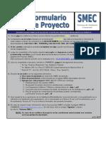 Formulario Proyecto SMEC v3.3