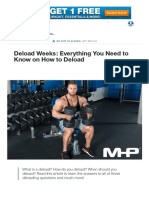 Deload Weeks_ Everything You Need to Know on How to Deload