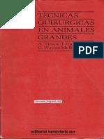 Técnicas Quirúrgicas en Animales Grandes - A. Simon Turner & C. Wayne McIlwraith.pdf