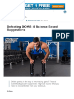Defeating DOMS_ 5 Science Based Suggestions