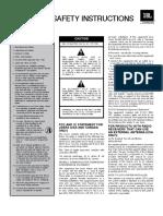 Manual de Usuario JBL