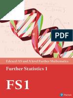 Further Statistics FS 1