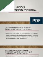 Evaluación Dimensión Espiritual