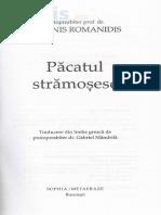 Pacatul Stramosesc - Ioannis Romanidis