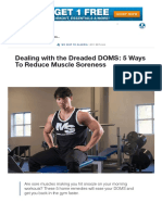 5 Ways to Reduce Muscle Soreness_ Deadling With DOMS