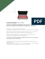 Caja de Prismas Manual