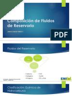 composicion de los fluidos de reservorios