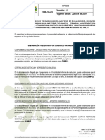 Respuesta Observaciones Al Informe de Evaluación - Interventoria Patinodromo
