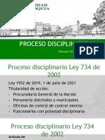 Proceso Disciplinario