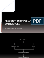 Recognition of Pediatric Emergencies
