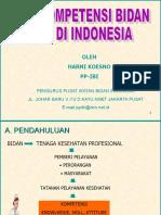 Kebutuhan Kompetensi Bidan Di Indonesia