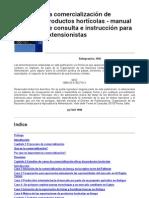 La Comercializacion de Productos Horticolas Manual