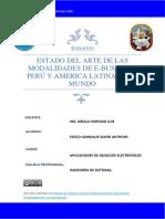 Modalidades E-bussines Perú y America Latina